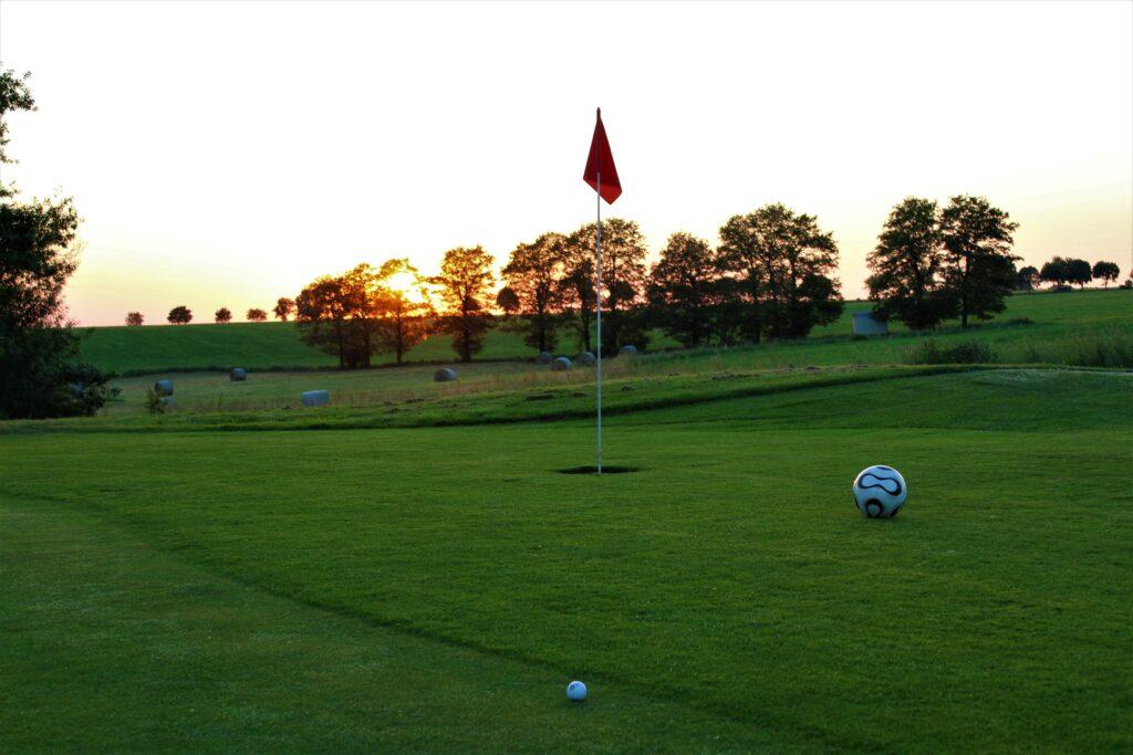 Golf- und Fußball